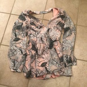 A jungle romper size mom